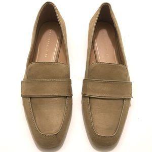 Zara Trafaluc Women's Tan Loafers